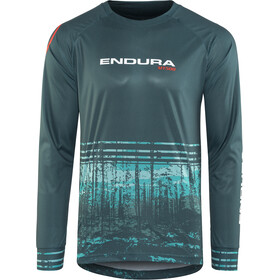 Endura MT500 T II Long Sleeve Jersey Men petrol